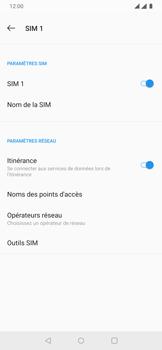 OnePlus 7 - Aller plus loin - Désactiver les données à l'étranger - Étape 7