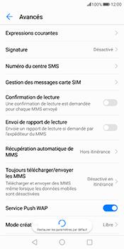 Huawei Mate 10 Pro - SMS - Configuration manuelle - Étape 8