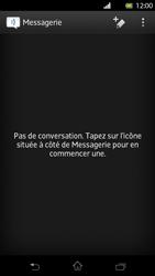 Sony LT30p Xperia T - MMS - envoi d'images - Étape 2