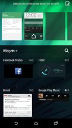 HTC One M8 - Startanleitung - Installieren von Widgets und Apps auf der Startseite - Schritt 6