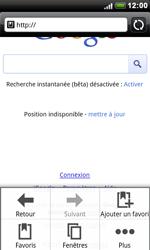 HTC S510e Desire S - Internet - navigation sur Internet - Étape 5