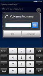 Sony Xperia X10 - Voicemail - Handmatig instellen - Stap 6