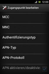 Sony Xperia E - MMS - Manuelle Konfiguration - Schritt 14