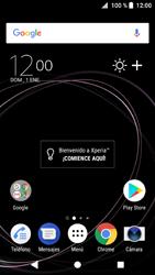Sony Xperia XZ1 - Internet - Ver uso de datos - Paso 1
