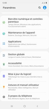Samsung Galaxy A51 - Aller plus loin - Mettre à jour le logiciel interne de votre mobile - Étape 5