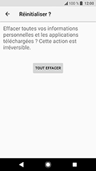 Sony Xperia XA2 - Aller plus loin - Restaurer les paramètres d'usines - Étape 8