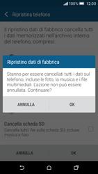 HTC One M9 - Dispositivo - Ripristino delle impostazioni originali - Fase 8