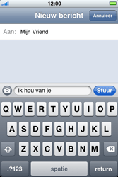 Apple iPhone 3G S - MMS - hoe te versturen - Stap 6