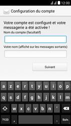 Huawei Y625 - E-mail - Configuration manuelle - Étape 18