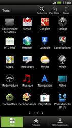 HTC S720e One X - Messagerie vocale - configuration manuelle - Étape 4