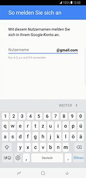 Samsung Galaxy S8 Plus - Apps - Konto anlegen und einrichten - 0 / 0