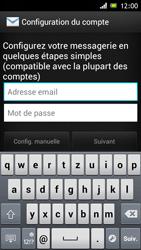 Sony Xperia J - E-mail - Configuration manuelle - Étape 5