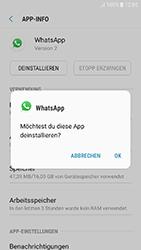 Samsung Galaxy J3 (2017) - Apps - Eine App deinstallieren - Schritt 7