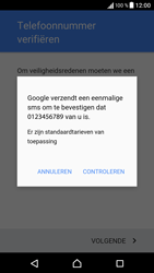 Sony Sony Xperia E5 - apps - account instellen - stap 9