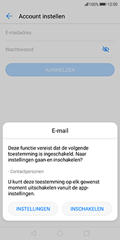 Huawei Mate 10 Lite - E-mail - Account instellen (POP3 zonder SMTP-verificatie) - Stap 5
