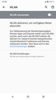 Sony Xperia XZ2 Premium - Android Pie - WLAN - Manuelle Konfiguration - Schritt 6