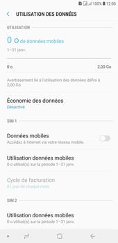 Samsung Galaxy J4+ - Internet et connexion - Désactiver la connexion Internet - Étape 7