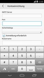 Huawei Ascend P7 - E-Mail - Konto einrichten - Schritt 15