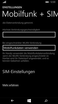 Microsoft Lumia 640 XL - Netzwerk - Netzwerkeinstellungen ändern - Schritt 5
