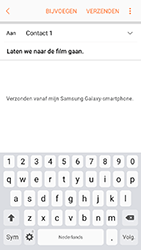 Samsung Galaxy A3 (2017) - Android Marshmallow - e-mail - hoe te versturen - stap 10