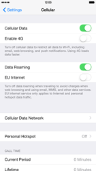 Apple iPhone 6 Plus iOS 8 - Internet and data roaming - Disabling data roaming - Step 4