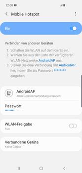 Samsung Galaxy S10 Plus - WiFi - So aktivieren Sie einen WLAN-Hotspot - Schritt 13