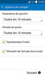 Samsung G388F Galaxy Xcover 3 - E-mail - configuration manuelle - Étape 17