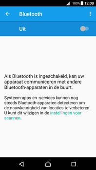 Sony Xperia Z5 Premium - Android Nougat - Bluetooth - koppelen met ander apparaat - Stap 7
