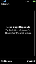 Sony Ericsson U5i Vivaz - Internet - Manuelle Konfiguration - 8 / 29