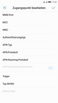 Huawei Mate 9 Pro - Internet - Apn-Einstellungen - 0 / 0