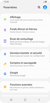 Samsung Galaxy S9 Android Pie - Appareil - Configurer Localiser mon appareil - Étape 4