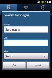 Samsung S5690 Galaxy Xcover - Internet - Hoe te internetten - Stap 8