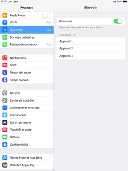 Apple iPad Pro 9.7 - iOS 12 - Bluetooth - connexion Bluetooth - Étape 7