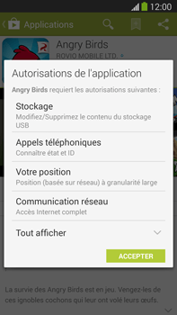 Samsung Galaxy Note III LTE - Applications - Installation d