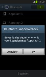 Samsung I8260 Galaxy Core - Contactgegevens overzetten - delen via Bluetooth - Stap 11
