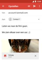 Nokia 5 - Android Oreo - E-mail - hoe te versturen - Stap 16