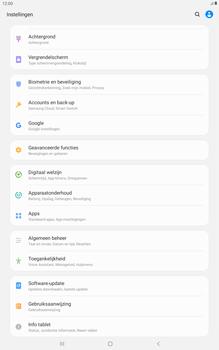 Samsung galaxy-tab-a-10-5-sm-t595-android-pie - Instellingen aanpassen - Fabrieksinstellingen terugzetten - Stap 4