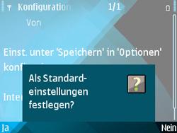 Nokia E71 - Internet - Automatische Konfiguration - Schritt 12