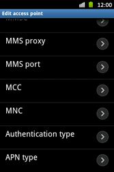 Samsung S6500D Galaxy Mini 2 - Internet - Manual configuration - Step 13