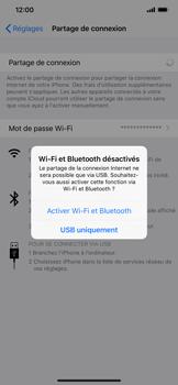 Apple iPhone XR - Internet et connexion - Utiliser le mode modem par USB - Étape 7