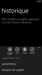 Nokia Lumia 1520 - Messagerie vocale - configuration manuelle - Étape 6