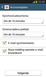 Samsung S7580 Galaxy Trend Plus - e-mail - handmatig instellen - stap 16