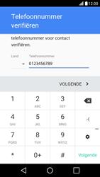 LG LG X Screen - apps - account instellen - stap 7