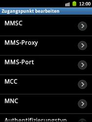 Samsung Galaxy Pocket - MMS - Manuelle Konfiguration - Schritt 11