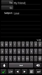 Nokia 700 - E-mail - Sending emails - Step 10