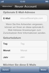 Apple iPhone 3GS - Apps - Einrichten des App Stores - Schritt 10
