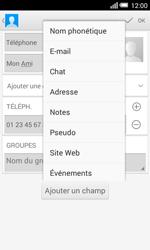 Alcatel OT-5050X Pop S3 - Contact, Appels, SMS/MMS - Ajouter un contact - Étape 11