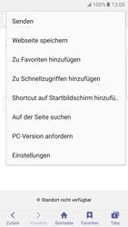 Samsung Galaxy S7 Edge - Internet und Datenroaming - Verwenden des Internets - Schritt 9