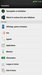 HTC One Max - Applications - Comment désinstaller une application - Étape 4