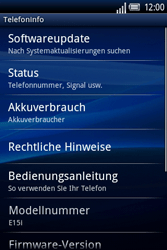Sony Ericsson Xperia X8 - Software - Update - Schritt 5